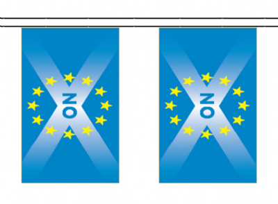 Scotland EU Membership 'NO' 10m Bunting